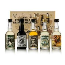 Remarkable Regional Malts Mixed-Box GB 5 x 50 ml