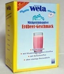 MoPro Plus Milchgetränkepulver Erdbeer 1 kg