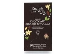 Schokolade Rooibos & Vanille, BIO, 20 Pyramiden