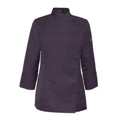 Damen Kochjacke Gina Purple S