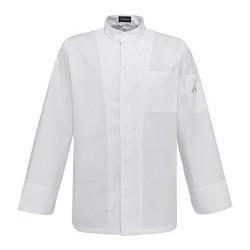 Kochjacke Dino White Basic Brusttasche S