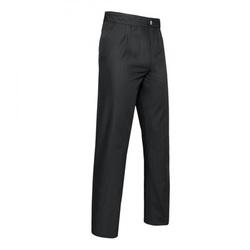 Pantalon Ton sur Ton Black Satin Gr.56