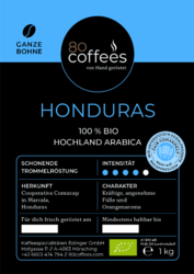BIO-Honduras Bohnenkaffee 1kg