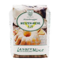 Weizenmehl W480 glatt 1kg, AT
