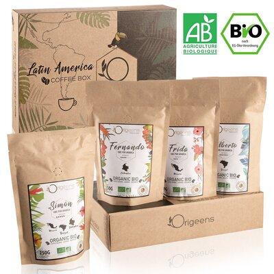 BIO Gemahlener Kaffee Probierset 4x250g